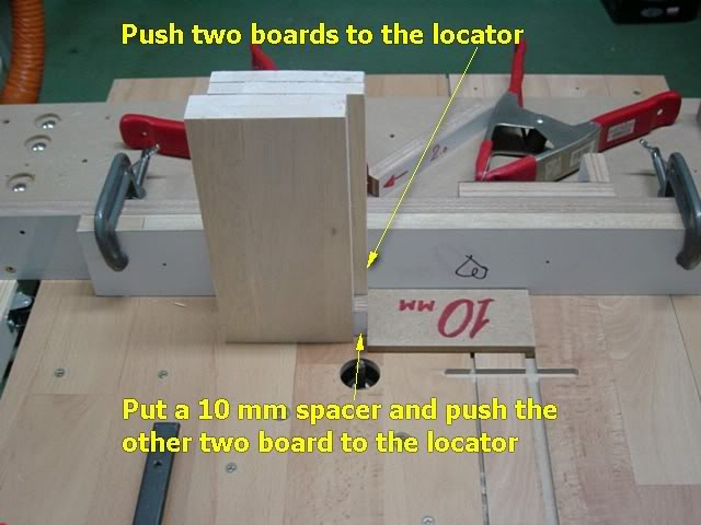 how to make a finger joint router jig